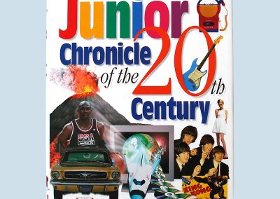 Dorling Kindersley Junior Chronicle of the 20th Century cover