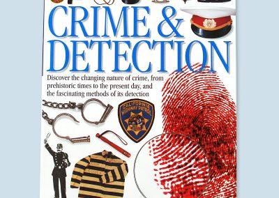 Dorling Kindersley Eyewitness Crime and Detection cover