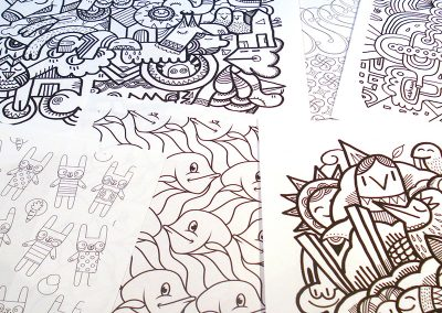 Patterns for Colouring printables