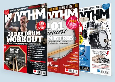 Rhythm magazine covers