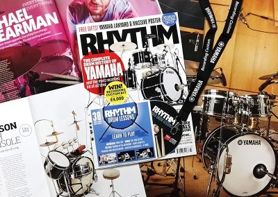 Rhythm magazine contents and gifts