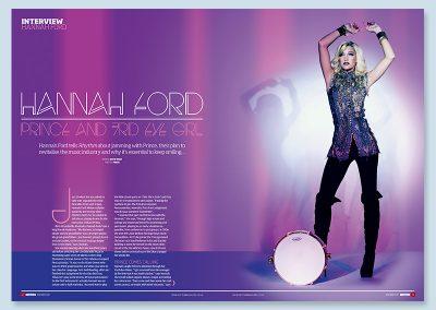 Rhythm magazine Hannah Ford