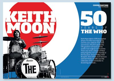 Rhythm magazine Keith Moon