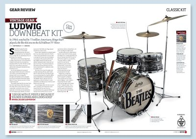 Rhythm magazine classic kit The Beatles