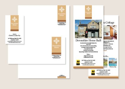 Devonshire House stationery