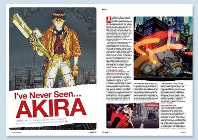 Anime Akira article