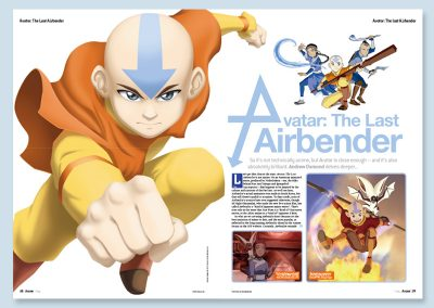 Avatar: The Last Airbender article for SFX Anime