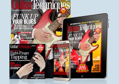 Guitar Techniques magazine print and digital versions