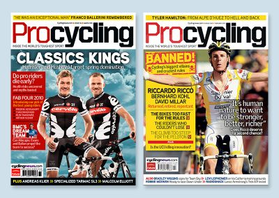 Procycling covers