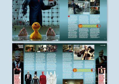 EDGE magazine spread design