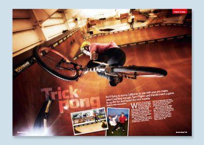 MBUK magazine spread design