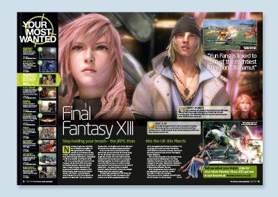 Official XBOX magazine spread design