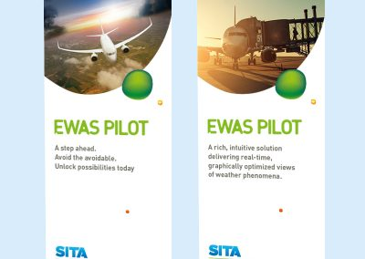 SITA for Aircraft exhibition banners