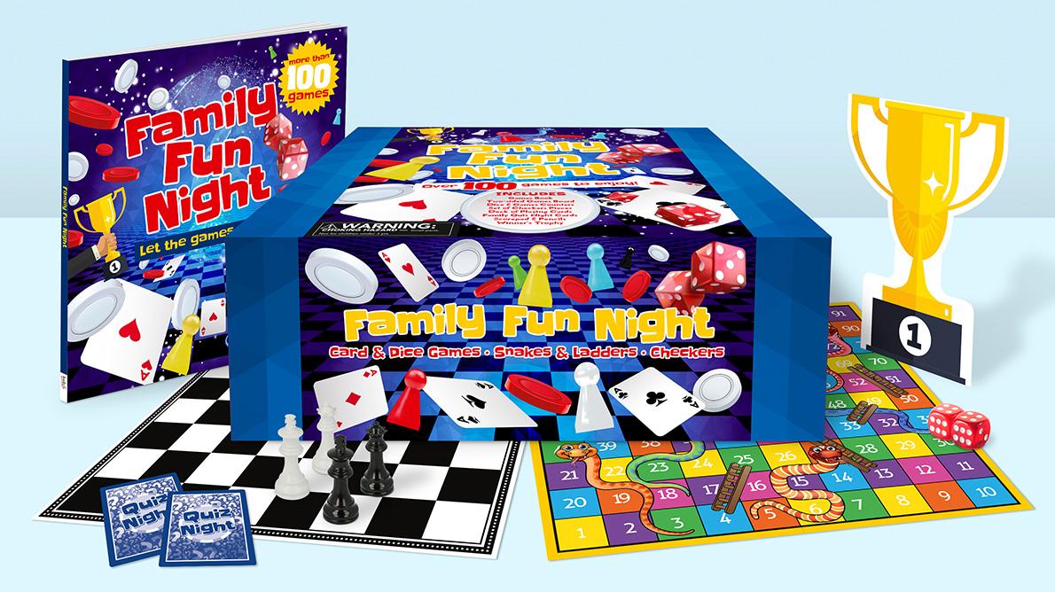 Family Fun Night boxset